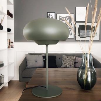 Lampe a poser champ vert mat o30cm h50cm frandsen normal