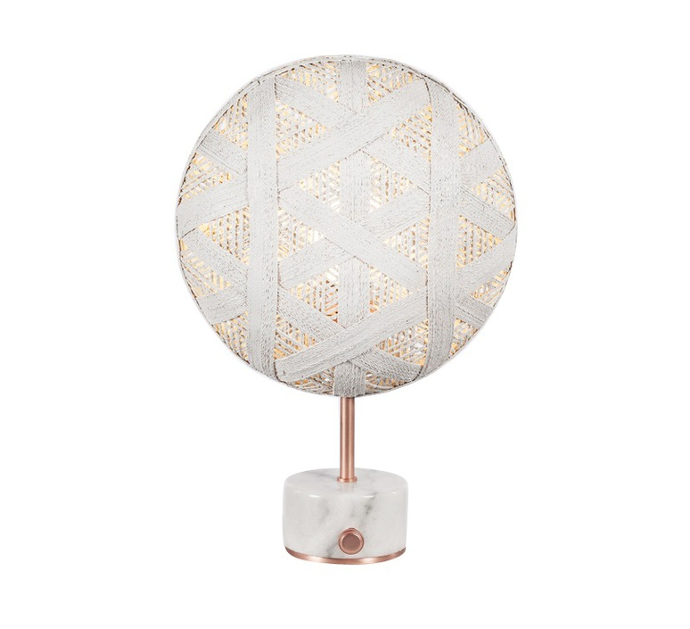 Chanpen hexagonal s  lampe a poser table lamp  forestier 20264  design signed 54725 product