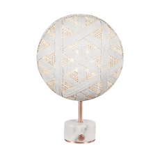 Chanpen hexagonal s  lampe a poser table lamp  forestier 20264  design signed 54725 thumb
