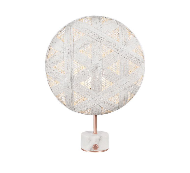 Chanpen hexagonal s  lampe a poser table lamp  forestier 20267  design signed 54721 product