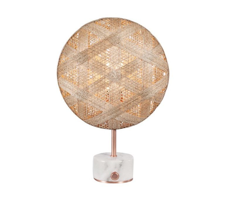 Chanpen hexagonal s  lampe a poser table lamp  forestier 20266  design signed 54760 product