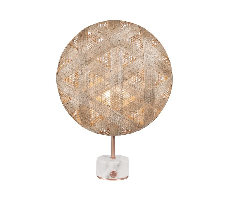 Chanpen hexagonal s  lampe a poser table lamp  forestier 20269  design signed 54764 product