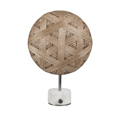 Chanpen hexagonal s  lampe a poser table lamp  forestier 20338  design signed 54753 thumb