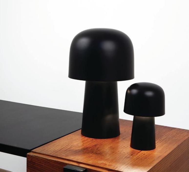 Chapeliere francois azambourg lignes de demarcation chapeliere noir petite luminaire lighting design signed 23610 product