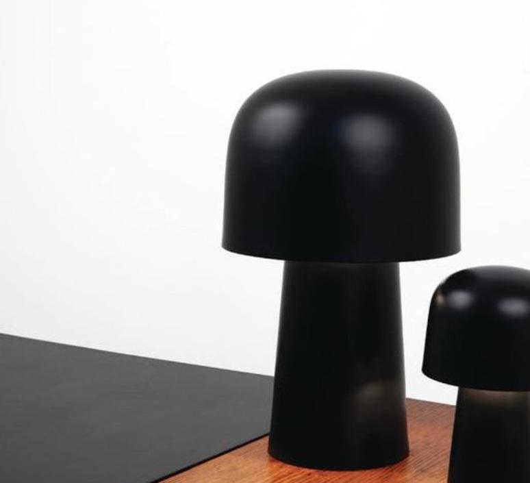 Chapeliere francois azambourg lignes de demarcation chapeliere noir grande luminaire lighting design signed 23604 product