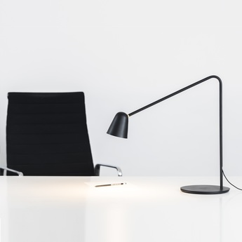 Lampe a poser chaplin noir l60cm formagenda normal