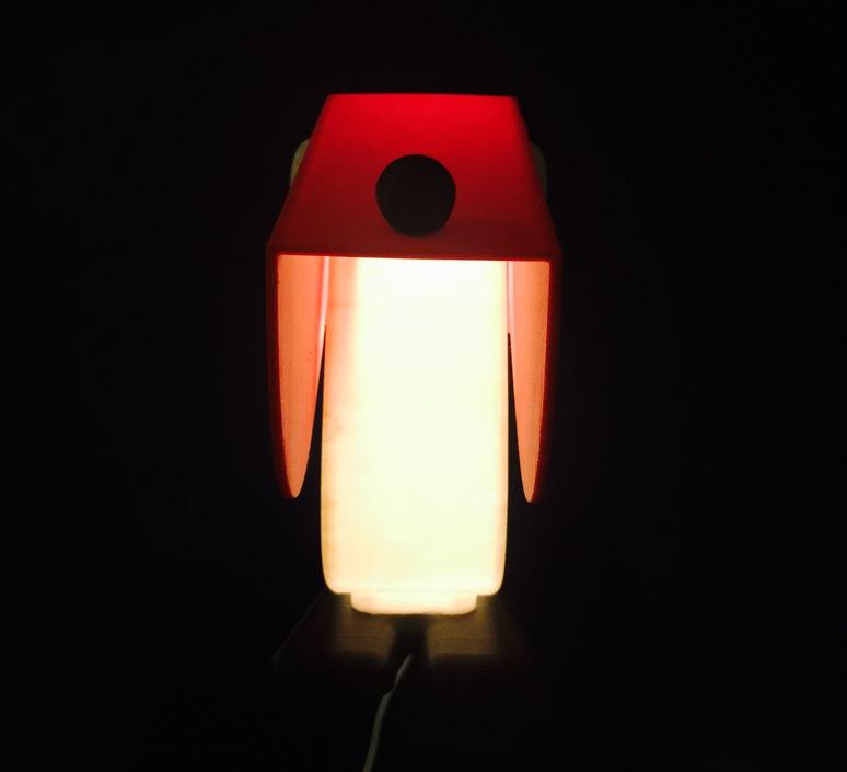 Chien cassetta fernando cassetta cassetta chien rouge luminaire lighting design signed 30408 product