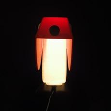Chien cassetta fernando cassetta cassetta chien rouge luminaire lighting design signed 30408 thumb