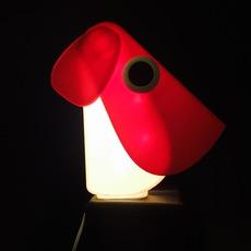Chien cassetta fernando cassetta cassetta chien rouge luminaire lighting design signed 30411 thumb