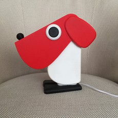 Chien cassetta fernando cassetta cassetta chien rouge luminaire lighting design signed 30520 thumb