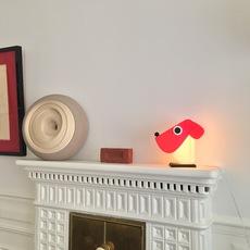 Chien cassetta fernando cassetta cassetta chien rouge luminaire lighting design signed 30522 thumb