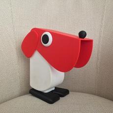 Chien cassetta fernando cassetta cassetta chien rouge luminaire lighting design signed 31340 thumb