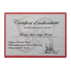 Chien cassetta fernando cassetta cassetta chien rouge luminaire lighting design signed 31341 thumb