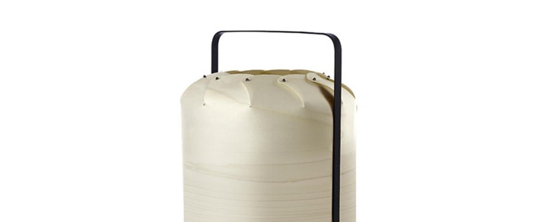 Lampe a poser chou mma blanc ivoire led h61cm o30 5cm lzf normal