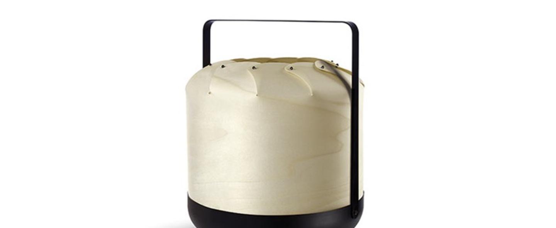 Lampe a poser chou mmb blanc ivoire led h37cm o30 5cm lzf normal