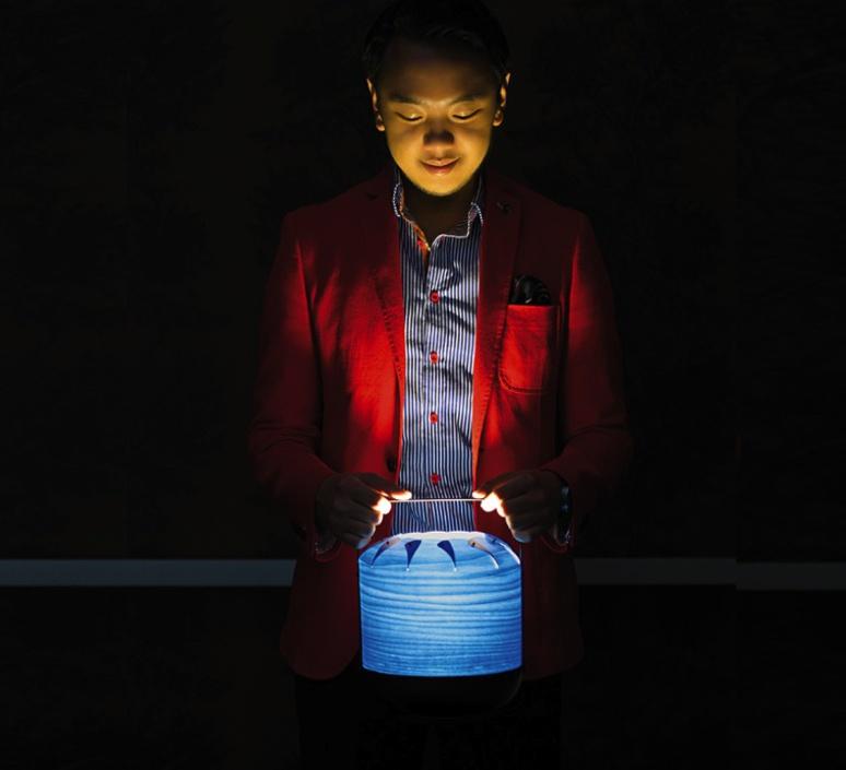 Chou mmb yonoh estudio creativo lampe a poser table lamp  lzf dark chou mmb 28  design signed 31767 product