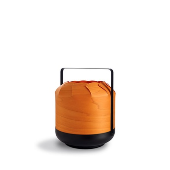 Lampe a poser chou mmb orange led h37cm o30 5cm lzf normal
