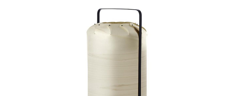 Lampe a poser chou mpa blanc ivoire led h40cm o21 5cm lzf normal
