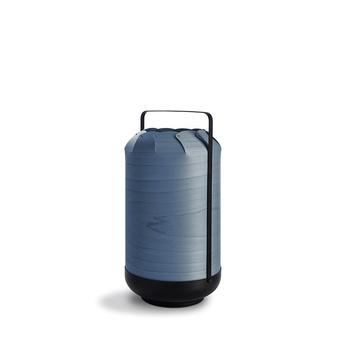 Lampe a poser chou mpa bleu led h40cm o21 5cm lzf normal
