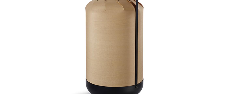 Lampe a poser chou mpa hetre naturel led h40cm o21 5cm lzf normal