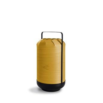 Lampe a poser chou mpa jaune led h40cm o21 5cm lzf normal