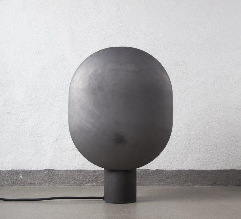Table Lamp Clam Oxidized L30cm H43 5cm Norr11 Nedgis Lighting