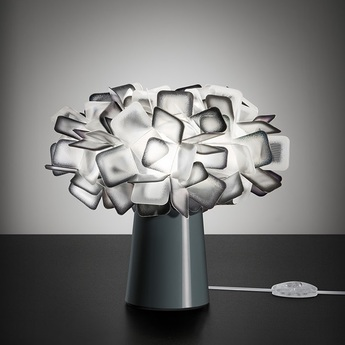 Lampe a poser clizia noir o27cm h25cm slamp normal