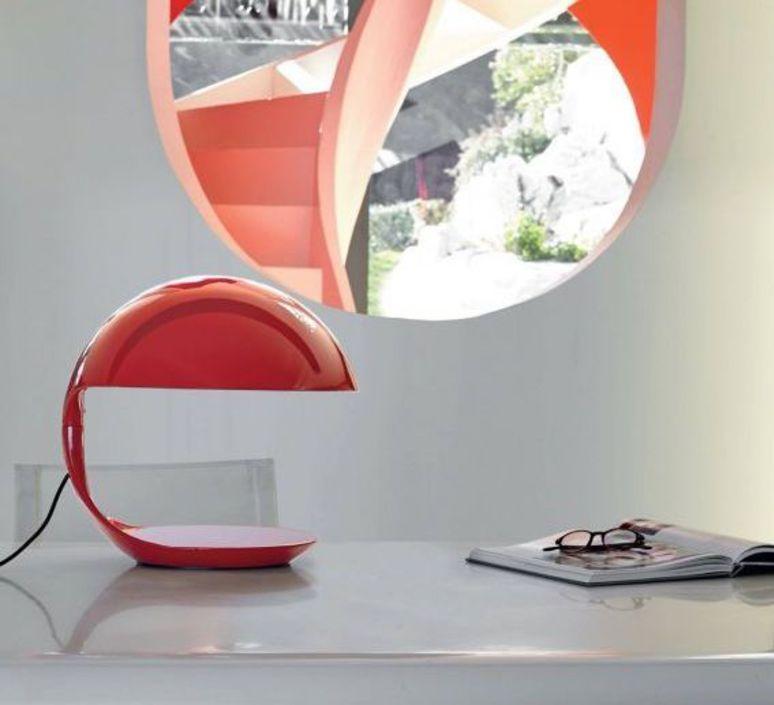 Cobra elio martinelli lampe a poser table lamp  martinelli luce 629 ro  design signed 52139 product