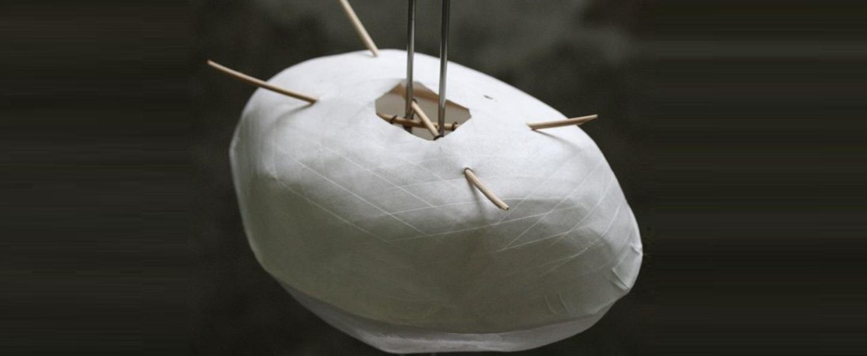 Lampe a poser cocon blanc h58cm celine wright normal