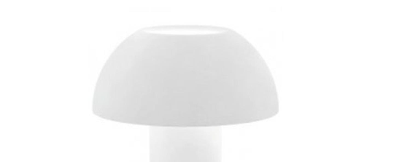 Lampe a poser colette 50 blanc o42cm h49 5cm pedrali normal