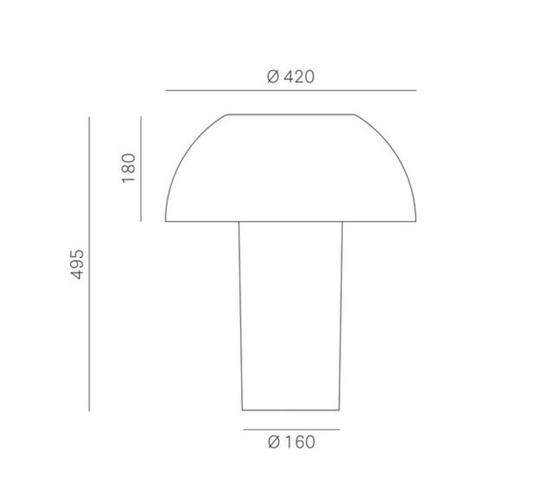 Colette 50 alberto basaglia et natalia rota nodar lampe a poser table lamp  pedrali  l003tb bl  design signed nedgis 67056 product