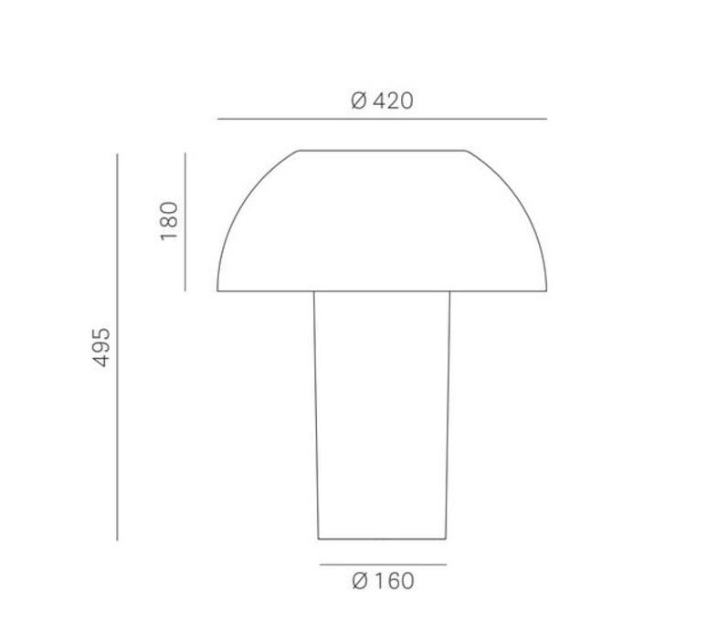 Colette 50 alberto basaglia et natalia rota nodar lampe a poser table lamp  pedrali  l003tb tr  design signed nedgis 67063 product