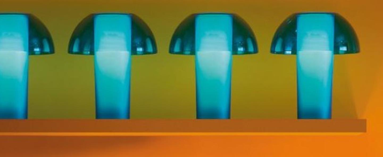 Lampe a poser colette bleu o25cm h29 5cm pedrali normal