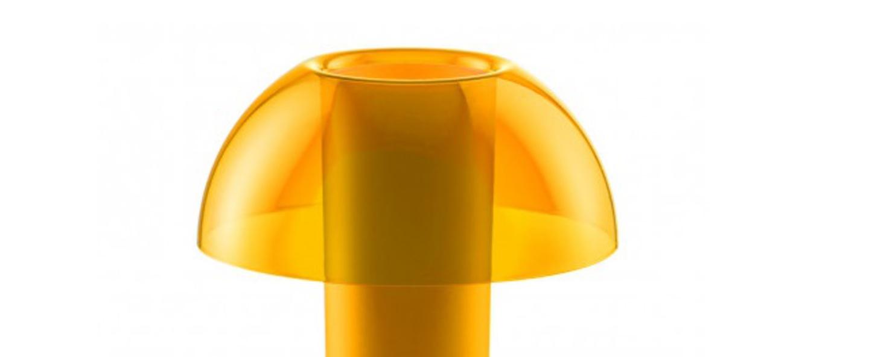 Lampe a poser colette jaune o25cm h29 5cm pedrali normal