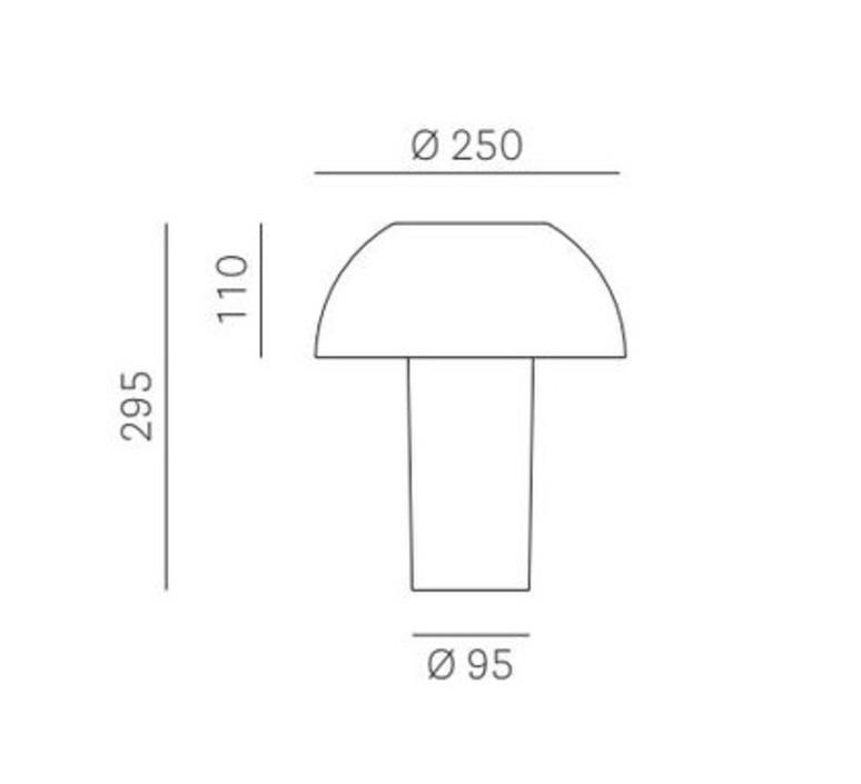 Colette alberto basaglia et natalia rota nodar lampe a poser table lamp  pedrali l003ta gt  design signed nedgis 67052 product