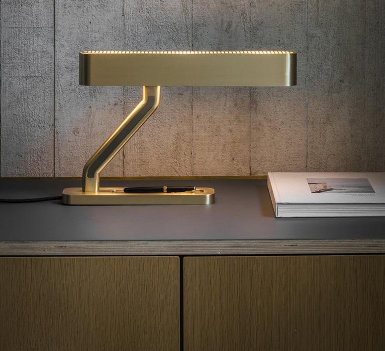 Colt robbie llewellyn et adam yeats lampe a poser table lamp  bert frank colt tl  design signed nedgis 75408 product