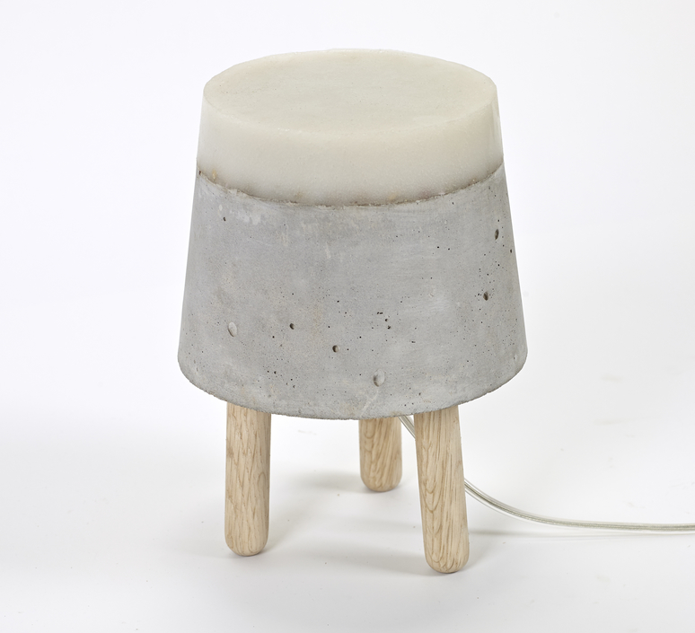 Concrete renate vos lampe a poser table lamp  serax b7214483  design signed 59953 product