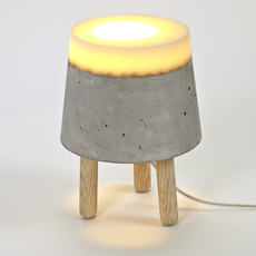 Concrete renate vos lampe a poser table lamp  serax b7214483  design signed 59954 thumb