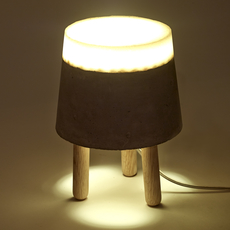 Concrete renate vos lampe a poser table lamp  serax b7214483  design signed 59955 thumb