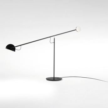 Lampe a poser copernica m graphite or noir led 2700k 427lm dimmable l106cm h60 3cm marset normal