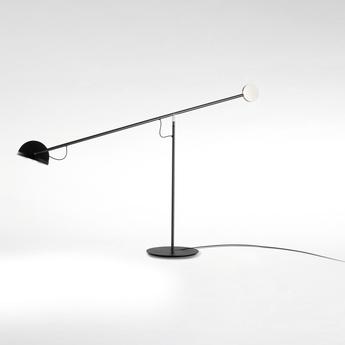 Lampe a poser copernica m graphite or noir led 2700k 427lm dimmable l106cm h60 3cm marset normal