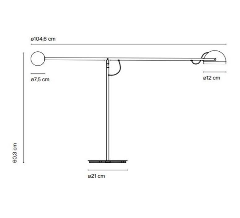 Copernica m studio ramirez i carrillo lampe a poser table lamp  marset a686 001  design signed 61660 product