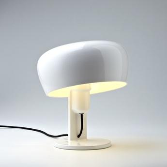 Lampe a poser coppola blanc h32cm formagenda normal