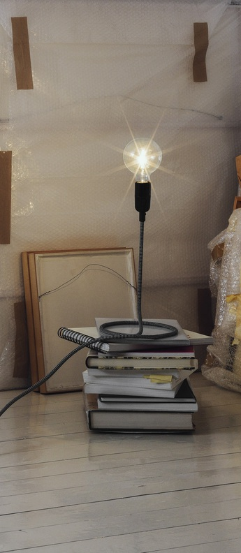 Lampe a poser cord h48cm o20cm dimmable andtradition normal