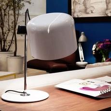 Coupe joe colombo oluce 2202 blanc luminaire lighting design signed 22463 thumb