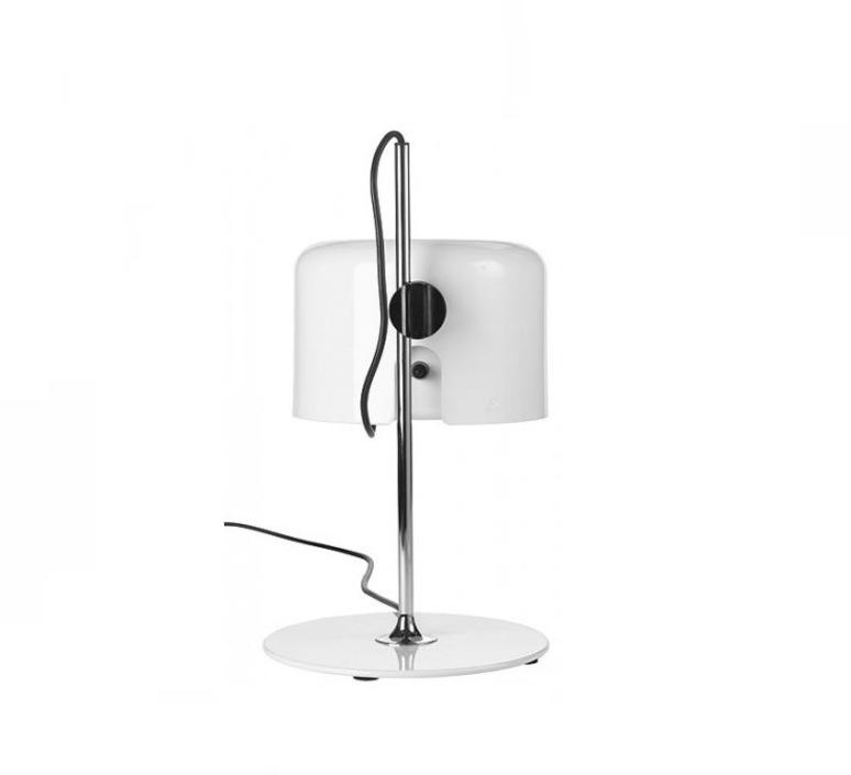 Coupe joe colombo oluce 2202 blanc luminaire lighting design signed 22466 product