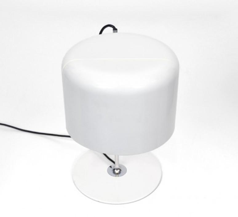 Coupe joe colombo oluce 2202 blanc luminaire lighting design signed 22467 product