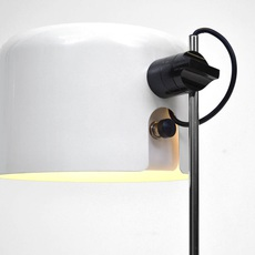 Coupe joe colombo oluce 2202 blanc luminaire lighting design signed 22469 thumb