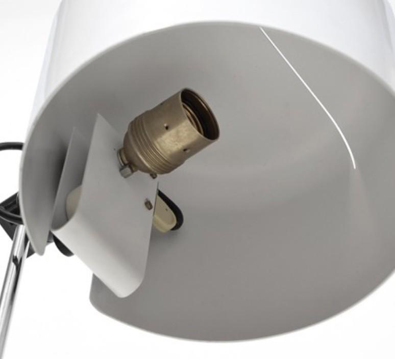 Coupe joe colombo oluce 2202 blanc luminaire lighting design signed 22470 product