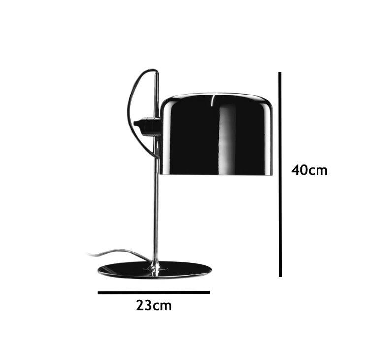 Coupe joe colombo oluce 2202 blanc luminaire lighting design signed 22471 product